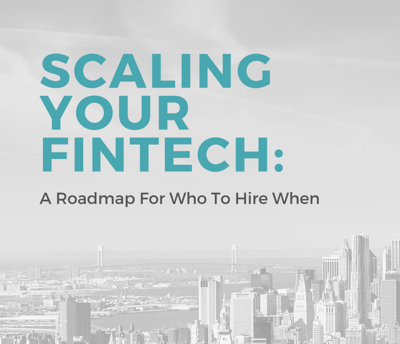 Scaling your fintech is exhilarating… but also incredibly challenging.
