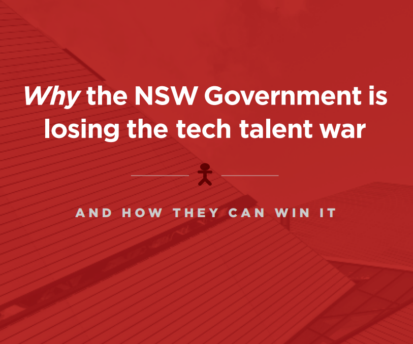 Why the NSW Government is losing the Tech Talent War